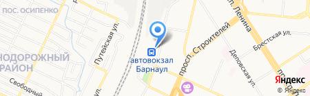 GSM City на карте Барнаула