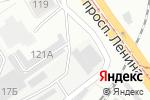 Схема проезда до компании Мостоотряд-96 в Барнауле