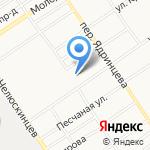 Специализированная пожарно-спасательная часть ФПС по Алтайскому краю на карте Барнаула