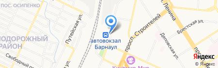 Для народа на карте Барнаула
