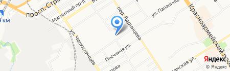 Специализированная пожарная часть по тушению крупных пожаров Главного Управления МЧС России по Алтайскому краю на карте Барнаула
