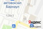 Схема проезда до компании Магазин фастфудной продукции в Барнауле