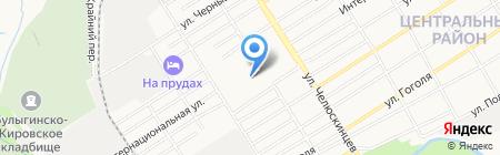 МАРИДЕНТ на карте Барнаула