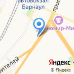 Союз Дент на карте Барнаула
