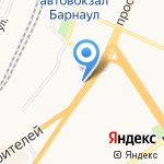 Союз-плюс на карте Барнаула