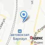 АВТОЛАЙН на карте Барнаула