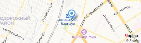 Евросеть на карте Барнаула