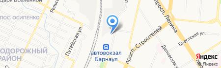Трикотаж для всей семьи на карте Барнаула
