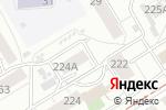 Схема проезда до компании МАРИДЕНТ в Барнауле