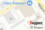 Схема проезда до компании Агромонтаж в Барнауле