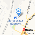 Славяне на карте Барнаула