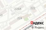 Схема проезда до компании Дельфин в Барнауле