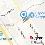 ЭлМо на карте Барнаула