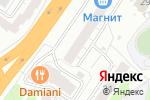 Схема проезда до компании Память в Барнауле