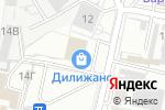 Схема проезда до компании Компания по продаже спутникового оборудования в Барнауле