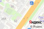 Схема проезда до компании ВитражПлюс в Барнауле