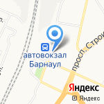Магазин товаров для рыбалки и туризма на карте Барнаула