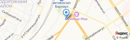 РВД-сервис на карте Барнаула