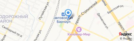 Быстроденьги на карте Барнаула