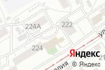 Схема проезда до компании 7 Соток в Барнауле