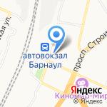 ЛОМБАРД-АГАТ на карте Барнаула