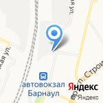 РЖД на карте Барнаула