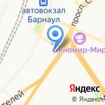 Алтай Шервуд на карте Барнаула