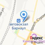 Алтайское Линейное Управление МВД России на карте Барнаула
