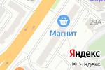 Схема проезда до компании МаксиАрт в Барнауле
