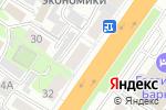 Схема проезда до компании КосмоДент в Барнауле