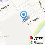 БАМЗ на карте Барнаула