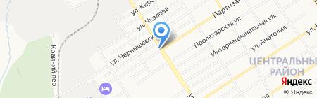 СанТорг на карте Барнаула