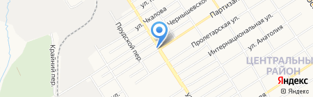 Ноев ковчег на карте Барнаула