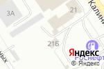 Схема проезда до компании S-CLASS в Барнауле