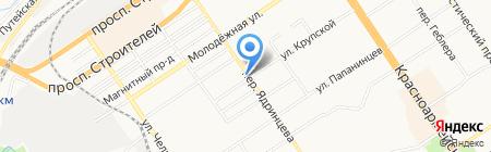 Шинный маркет на карте Барнаула