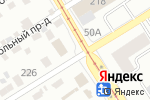 Схема проезда до компании СанТорг в Барнауле