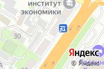 Схема проезда до компании TRAVEL в Барнауле