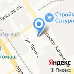 S-CLASS на карте Барнаула