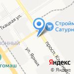 БАРНАУЛ-МОТОРС на карте Барнаула