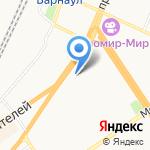 Мир мелочей на карте Барнаула
