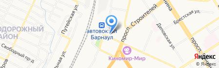 Столичный на карте Барнаула