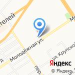 Библиотека №1 на карте Барнаула