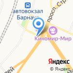 Пантолеон на карте Барнаула
