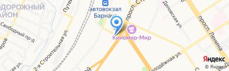 Ассоциация юристов г. Барнаула на карте Барнаула