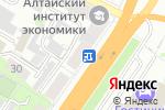 Схема проезда до компании TELE2 в Барнауле
