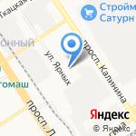 Леди-Фуршет на карте Барнаула