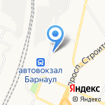 Пункт приема стеклотары на карте Барнаула