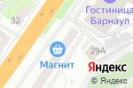 Схема проезда до компании Мастерская по ремонту резиновых лодок в Барнауле
