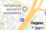 Схема проезда до компании alBaraka в Барнауле