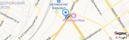 Алтайский институт экономики Санкт-Петербургского университета управления и экономики на карте Барнаула